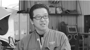(有)岩城電機商会 代表取締役  若城 弘之